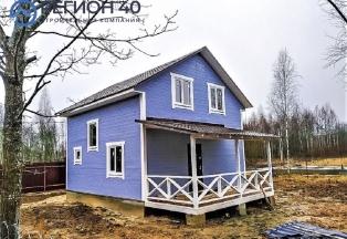 Продается новый дом 115 м² до 83 км по Варшавскому шоссе и до 85 км по Киевскому шоссе от МКАД в Калужской области Жуковский район СНТ Дубрава-2.