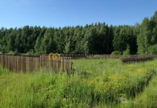 Красивый участок с выходм в лес, ИЖС в охраняемом поселке