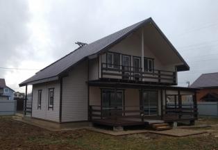 Дом 170 кв.м. с гаражом и выходом в лес на 10 сотках. Газ ПМЖ
