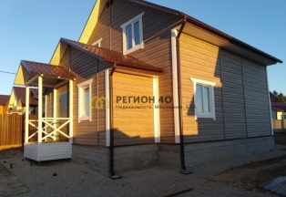 Новый двухэтажный дом в шикарном месте около озера