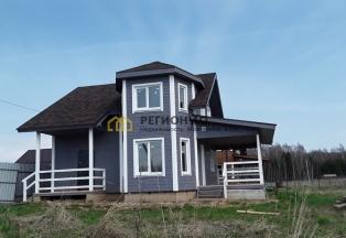 Добротный дом около леса и озера новый для проживания подходит под кредит