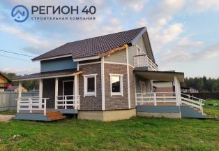 Дом для всей семьи с газом в деревне