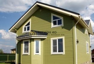 Новый двухэтажный дом под ключ в коттеджном поселке. ИЖС