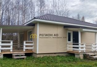Экономичный и экологичный деревянный дом в Дроздово.