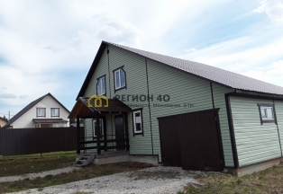 Дом с гаражом 160 кв.м. с газом по границе около озера ПМЖ ипотека маткапитал Военная ипотека