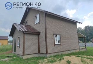 Дом с коммуникациями в деревне в 30 км от Новой Москвы