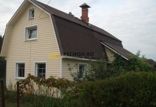 Дом с печкой около города Малоярославец в СНТ