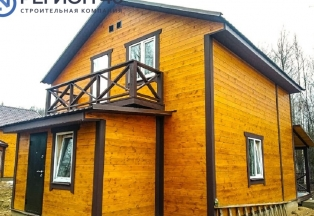 Дом по Калужскому и Варшавскому шоссе до 100 км от МКАД в современном поселке с охраной.