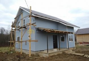 Дом до 110 км от МКАД для проживания в охраняемом поселке со всеми коммуникациями.