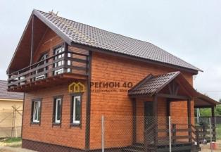 Продается большой новый дом от застройщика! 100 км от МКАД по Калужскому, Варшавскому и Киевскому шоссе! Со всеми коммуникация для круглогодичного проживания!