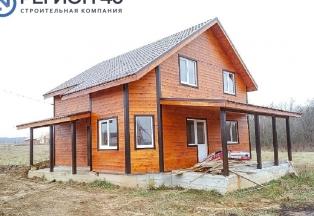 Дом 130 кв.м. в жилой деревне по Киевскому шоссе