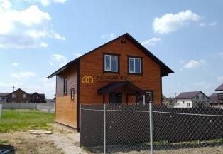 Новый дом до 90 км от МКАД по Киевскому или Варшавскому шоссе со всеми коммуникациями для проживания. Любая ипотека