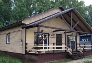 Продается загородный дом 100 кв. м. со всеми коммуникациями до 90 км по Калужскому шоссе от МКАД