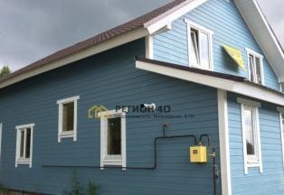 Продается дом с газом 130 кв. м. до 70 км по Киевскому шоссе. Со всеми коммуникациями, без комиссий!