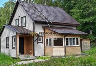 Дом для проживания с выходом в лес