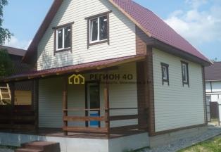 Новый двухэтажный дом около д. Шумятино