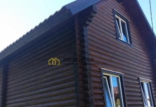 Добротный дом из калиброванного бревна