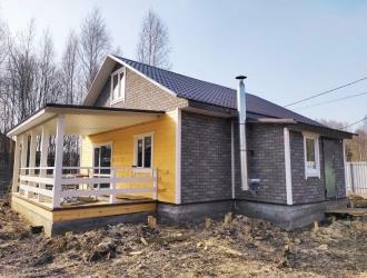 Дом с верандой в 30 км от Новой Москвы