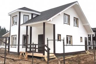 368, Просторный и теплый дизайнерский дом 150кв.м  в деревне Тишнево.