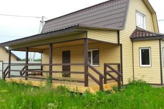 Предлагаю наилучший загородный дом в приятном зеленом районе.