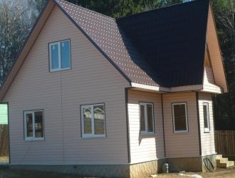 403, Продам дом в 105 км от МКАД по Киевскому или Калужскому шоссе, Малоярославецкий район, вблизи жилой деревни (1 км от города Малоярославец) в СНТ.