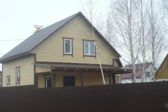 Продается НОВЫЙ дом в 90 км от МКАД по Калужскому или Киевскому шоссе, Жуковский район, около города Белоусово.