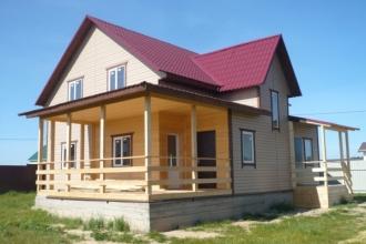 Продается новый 2-х этажный утепленный дом для проживания или отдыха в окружении леса.