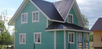 Современный дачный домик 100 кв.м  в окружении природы.