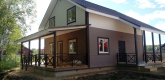 Красивый дом с газом в потрясающей и чудесной деревне Тишнево.