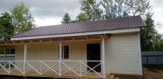 478, Новый уютный дом в пригороде г Жуков