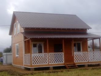 Дача в Боровском районе в окружении леса около водоема для отдыха или проживания