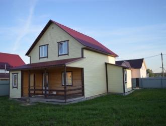 Дом с газом около Новой Москвы рядом с озерами лесом и базой отдыха