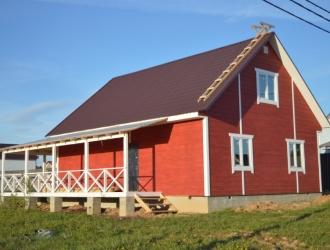 765, Добротный дом со всеми удобствами под ключ по Киевскому или Варшавскому шоссе 60 км от МКАД