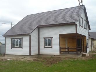 Дом с гаражом от Собственника в красивом месте около озер и леса по Киевскому Варшавскому шоссе 70 км от Москвы