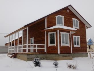 Дом с выходом в лес около озера для круглогодичного проживания в Калужской области дом по Киевскому Варшавскому шоссе