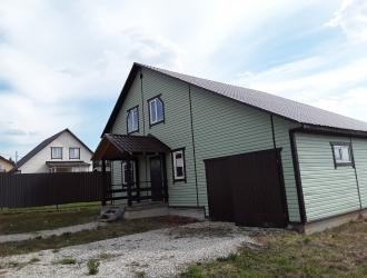 802, Дом с гаражом 160 кв.м. с газом по границе около озера ПМЖ ипотека маткапитал Военная ипотека