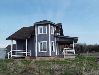 804, Добротный дом около леса и озера новый для проживания подходит под кредит
