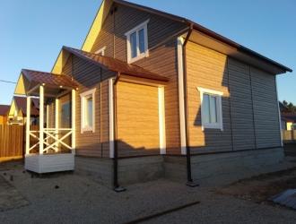 863, Новый двухэтажный дом в шикарном месте около озера