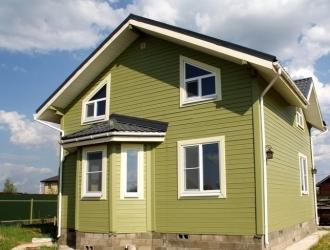 886, Новый двухэтажный дом под ключ в коттеджном поселке. ИЖС