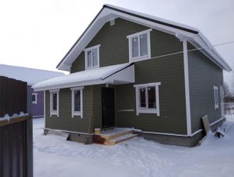 890, Дом с газом в деревне в