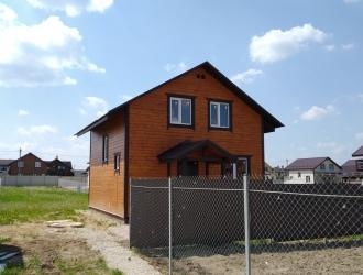 918, Новый дом до 90 км от МКАД по Киевскому или Варшавскому шоссе со всеми коммуникациями для проживания. Любая ипотека