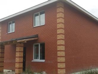 Кирпичный дом 110 кв. м с монолитным перекрытием, газ в доме!