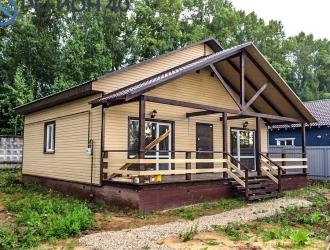 929, Продается загородный дом 100 кв. м. со всеми коммуникациями до 90 км по Калужскому шоссе от МКАД