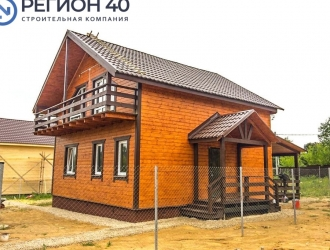 Продается большой дом от застройщика d 100 км от МКАД по Калужскому, Варшавскому и Киевскому шоссе! Со всеми коммуникация для круглогодичного проживания!