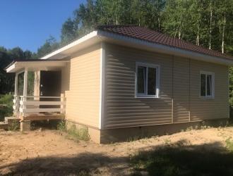 Продается новый дом 100 м² до 83 км по Варшавскому шоссе и до 85 км по Киевскому шоссе от МКАД