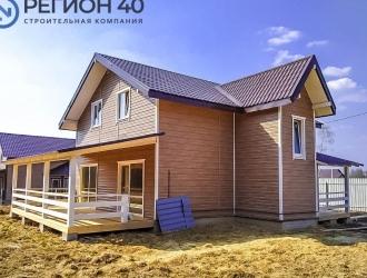 ЗАСТРОЙЩИК. Продается новый загородный дом 140 м² до 80 км. от МКАД по Калужскому шоссе