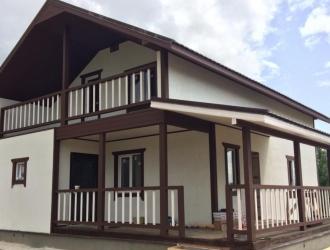 Продается новый дом 120 кв. м с участком в 70 км от МКАД по Киевскому шоссе в живописном районе со всеми коммуникациями!