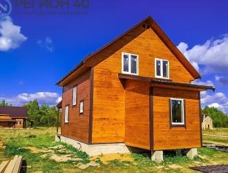 Дом до 110 км от Москвы по Киевскому шоссе и до 90 км от Подольска по Варшавскому (Калужскому) шоссе без переплат и скрытых комиссий.