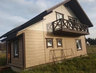 957, Зимний современный коттедж с газом в ИЖС поселке Нара.