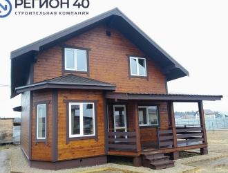 999, Теплый дом по Киевскому шоссе в Московской области